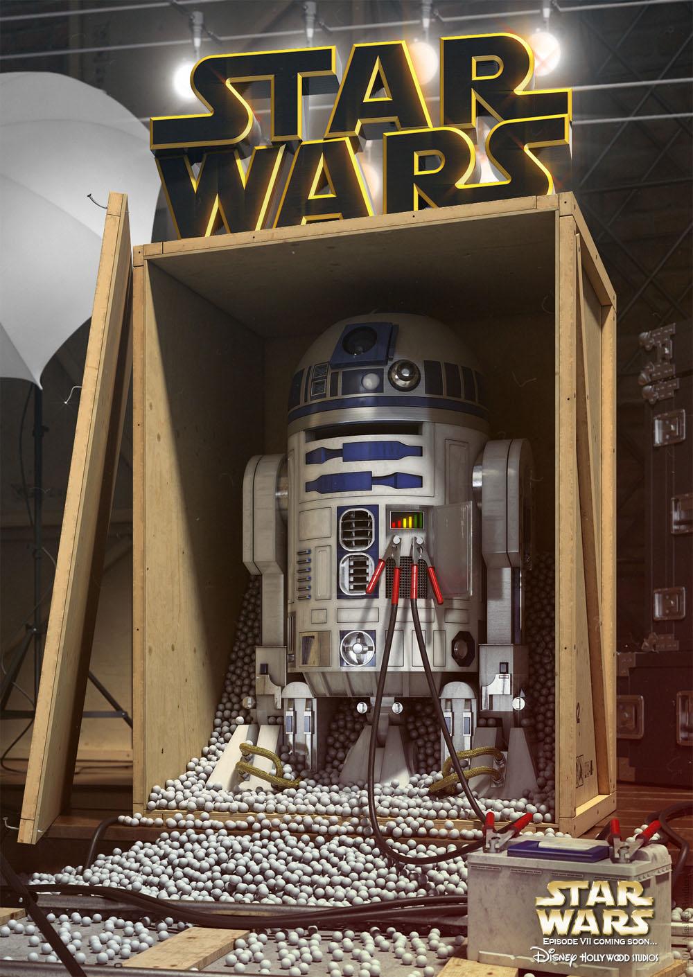 Фото со съемок звездные войны